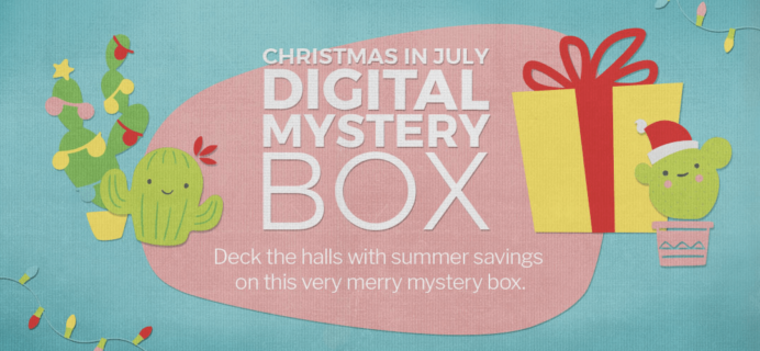 Cricut Christmas in July 2018 Digital Mystery Box Available Now!