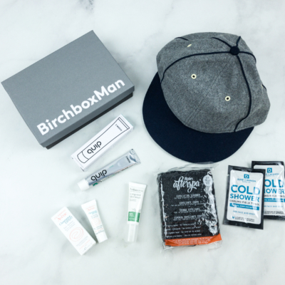 Birchbox Man August 2018 Subscription Box Review & Coupon