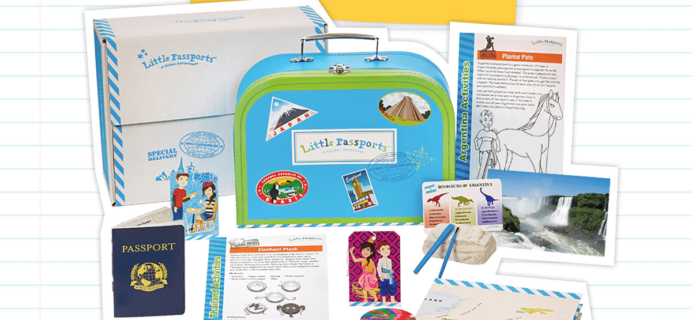 Little Passports Back To School Sale: Save 15% On Any Subscription! LAST FEW DAYS!