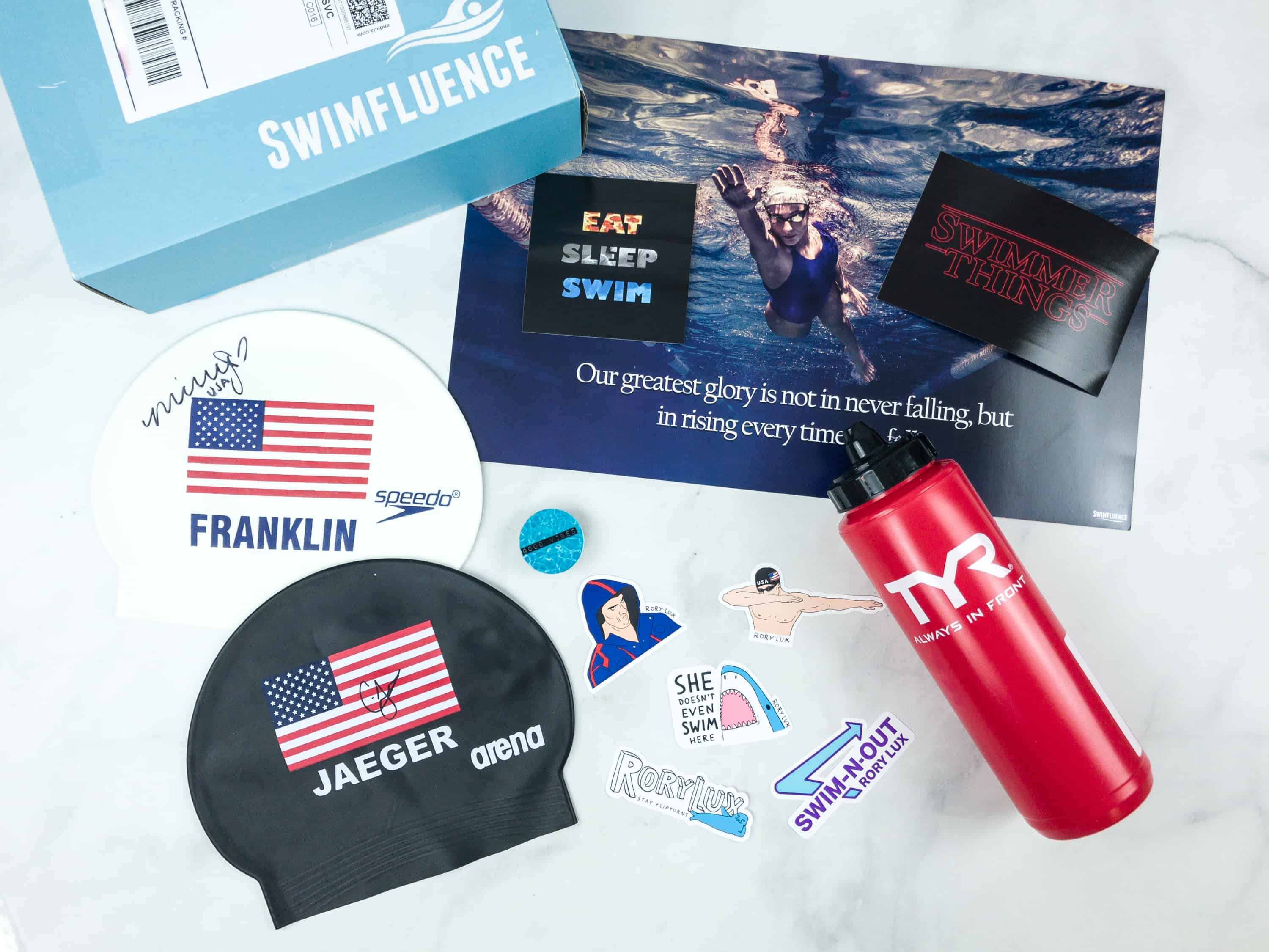 Swimfluence July 2018 Subscription Box Review