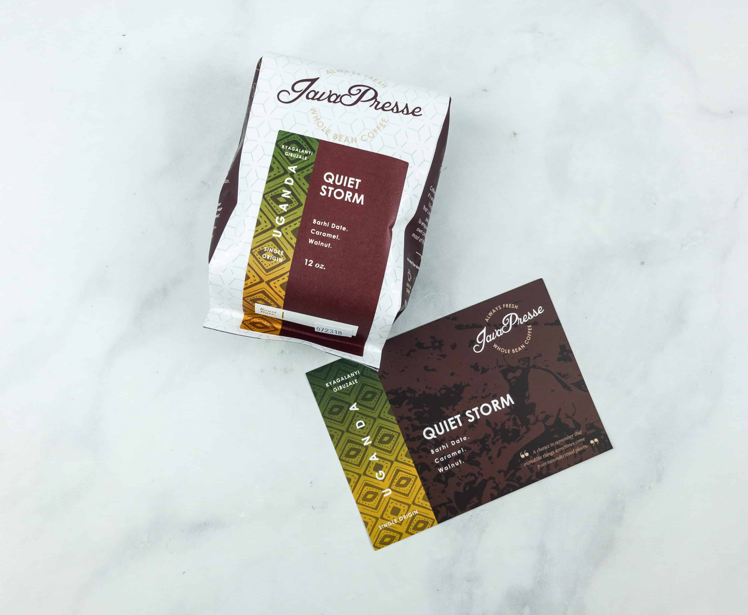 Java Presse Coffee Of The Month Club July 2018 Subscription Box Review + Coupon