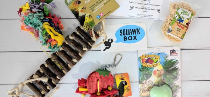 Squawk Box Subscription Review – July 2018