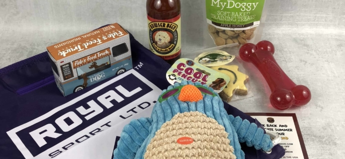 Pet Treater Dog Subscription Box Review + Coupon – July 2018