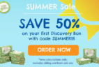 Green Kid Crafts Summer Sale: Get 50% Off Your First Discovery Box!
