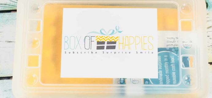 Box of Happies July 2018 Subscription Box Review + Coupon