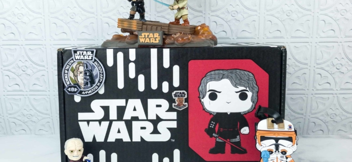 Smuggler's Bounty July 2018 Subscription Box Review – REVENGE OF THE SITH Box!