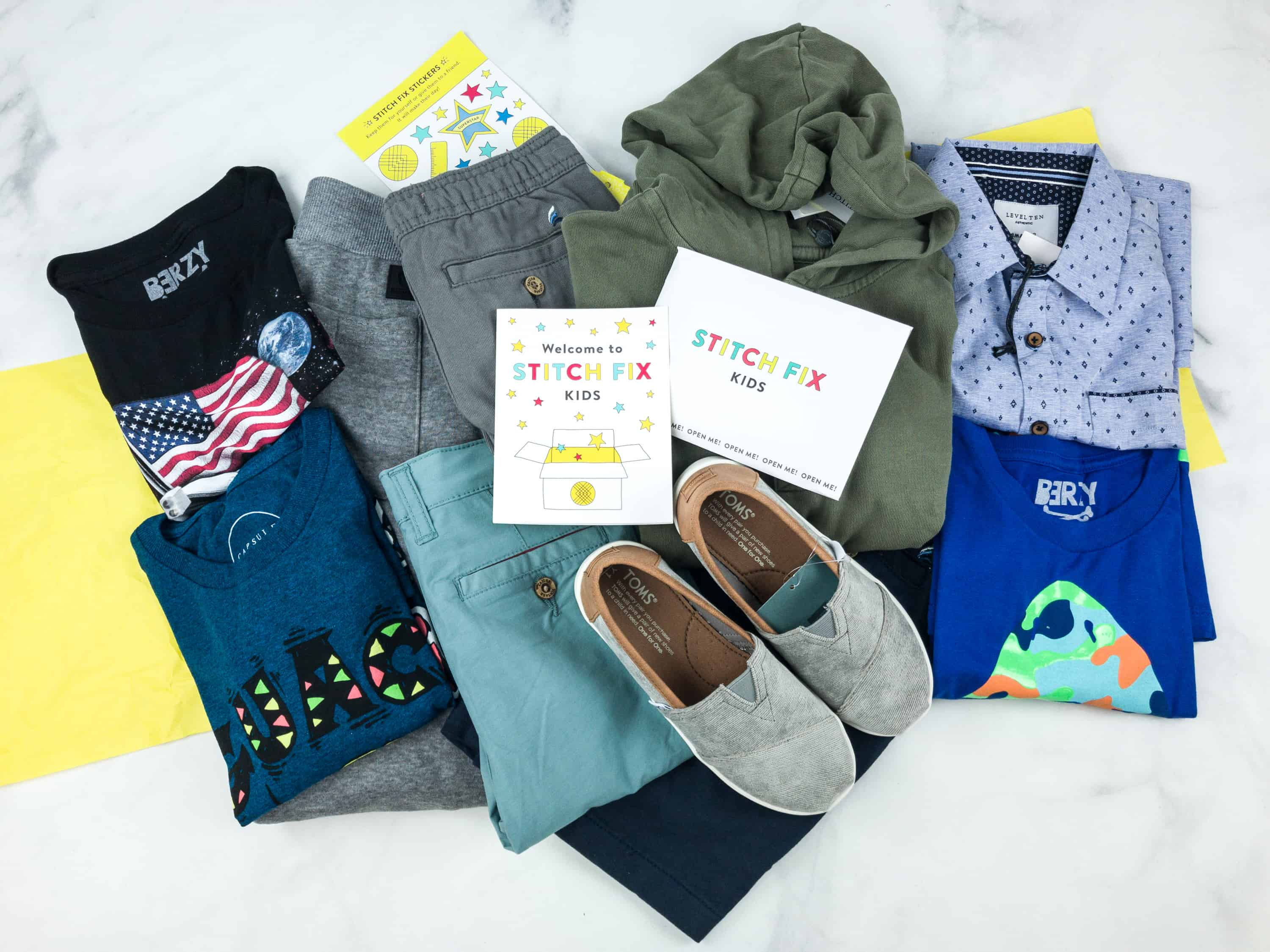 Stitch Fix Kids Review – Boys August 2018