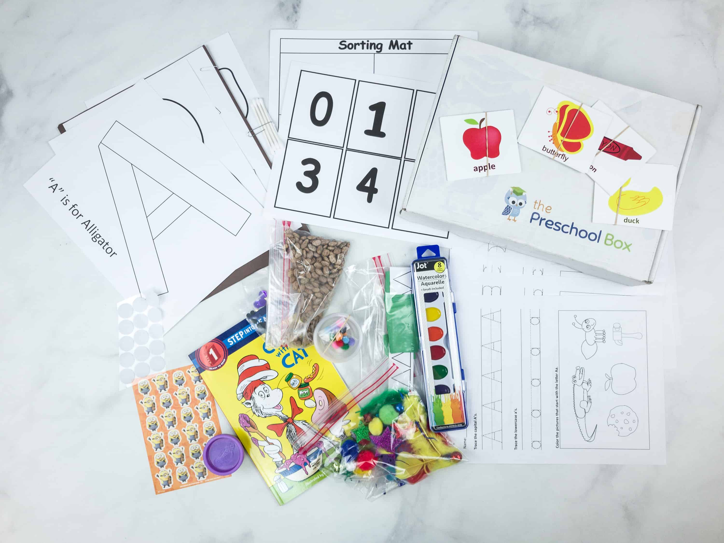 The Preschool Box Subscription Box Review – Box 1