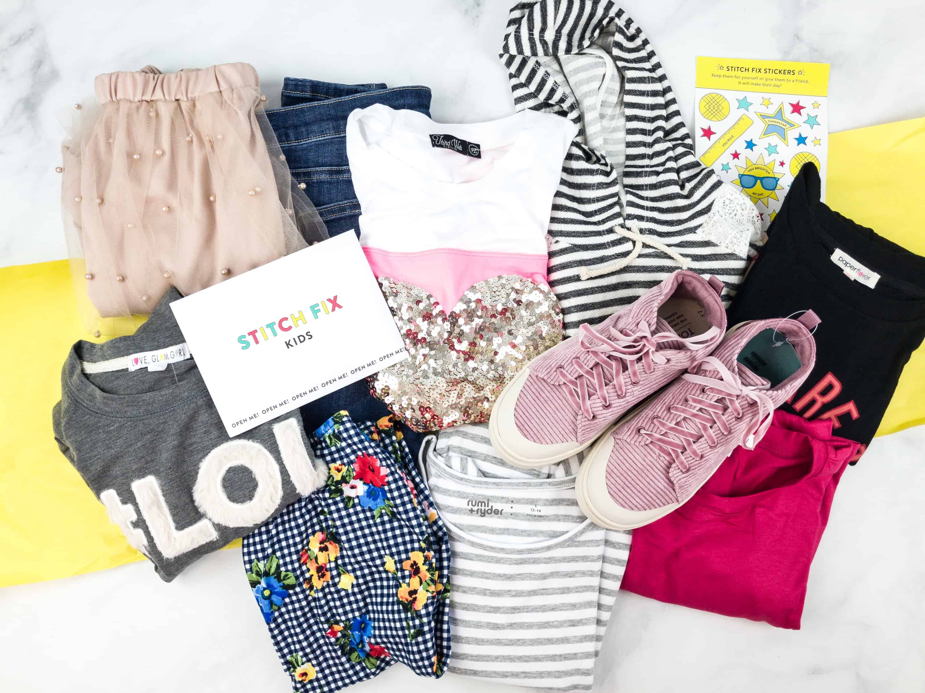 Stitch Fix Kids best kids' clothing subscription boxes