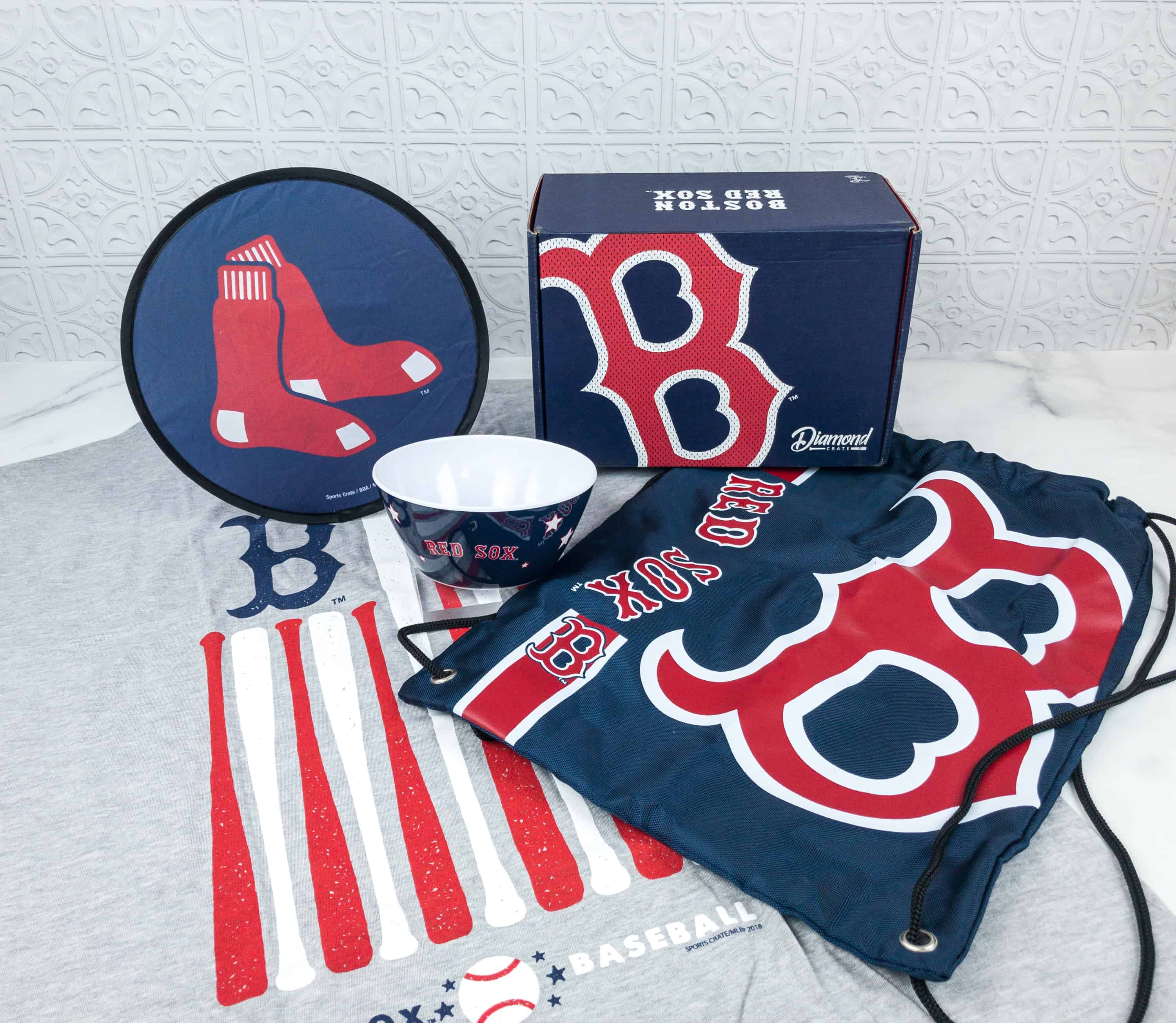 Sports Crate MLB Edition June 2018 Review + Coupon – Diamond Crate!