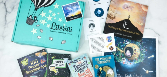 Literati Club Sage Box Review + Coupon – July 2018