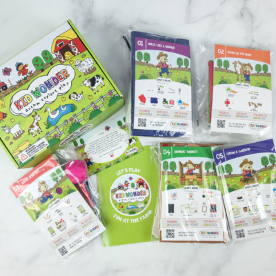 Kid Wonder Little Dreamers Box July 2018 Subscription Box Review