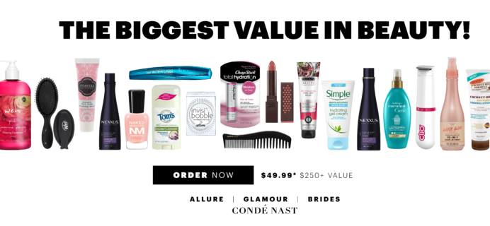 Allure Beauty Swag Box July 2018 Available Now!