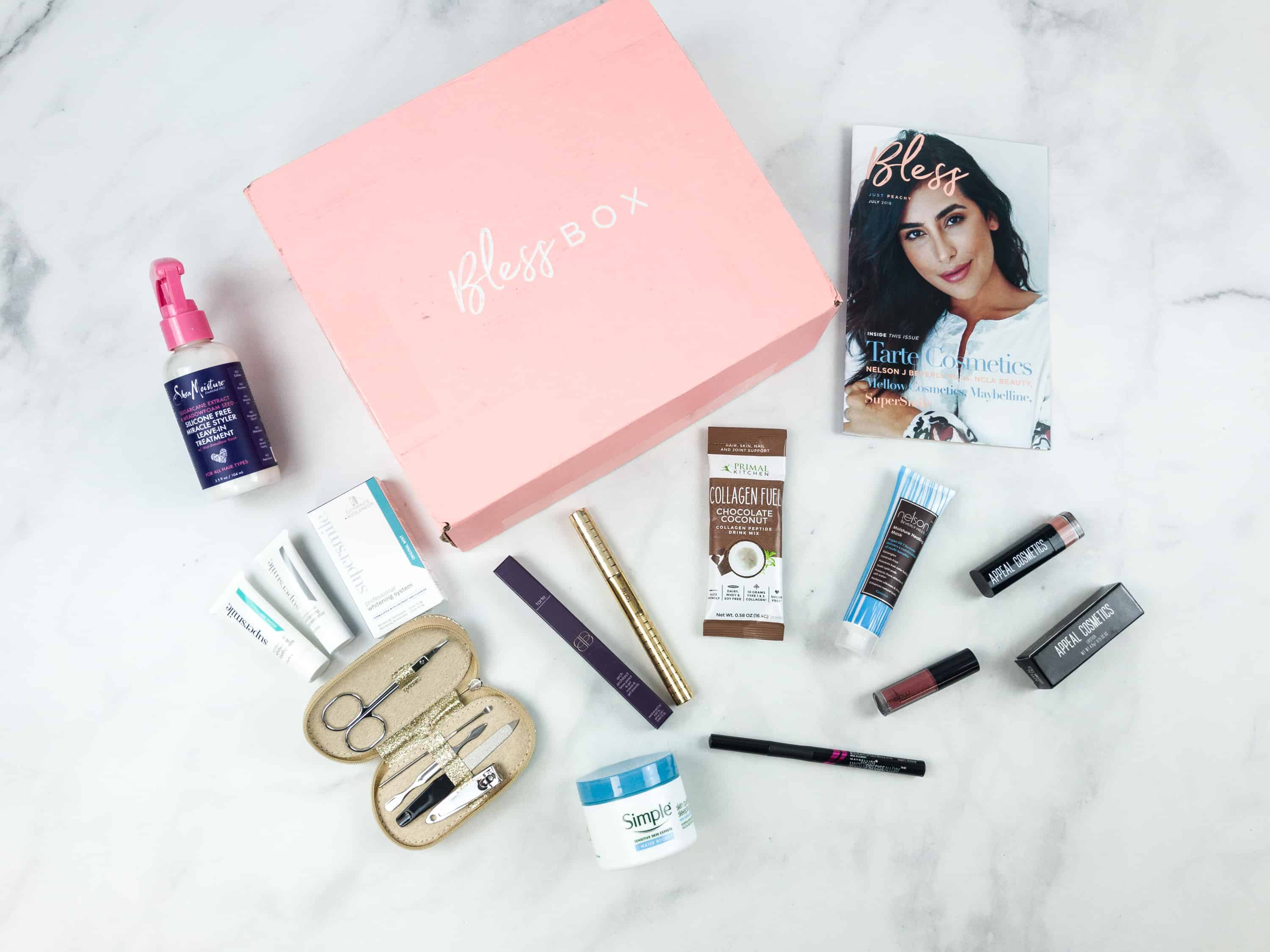 Bless Box July 2018 Subscription Box Review & Coupon