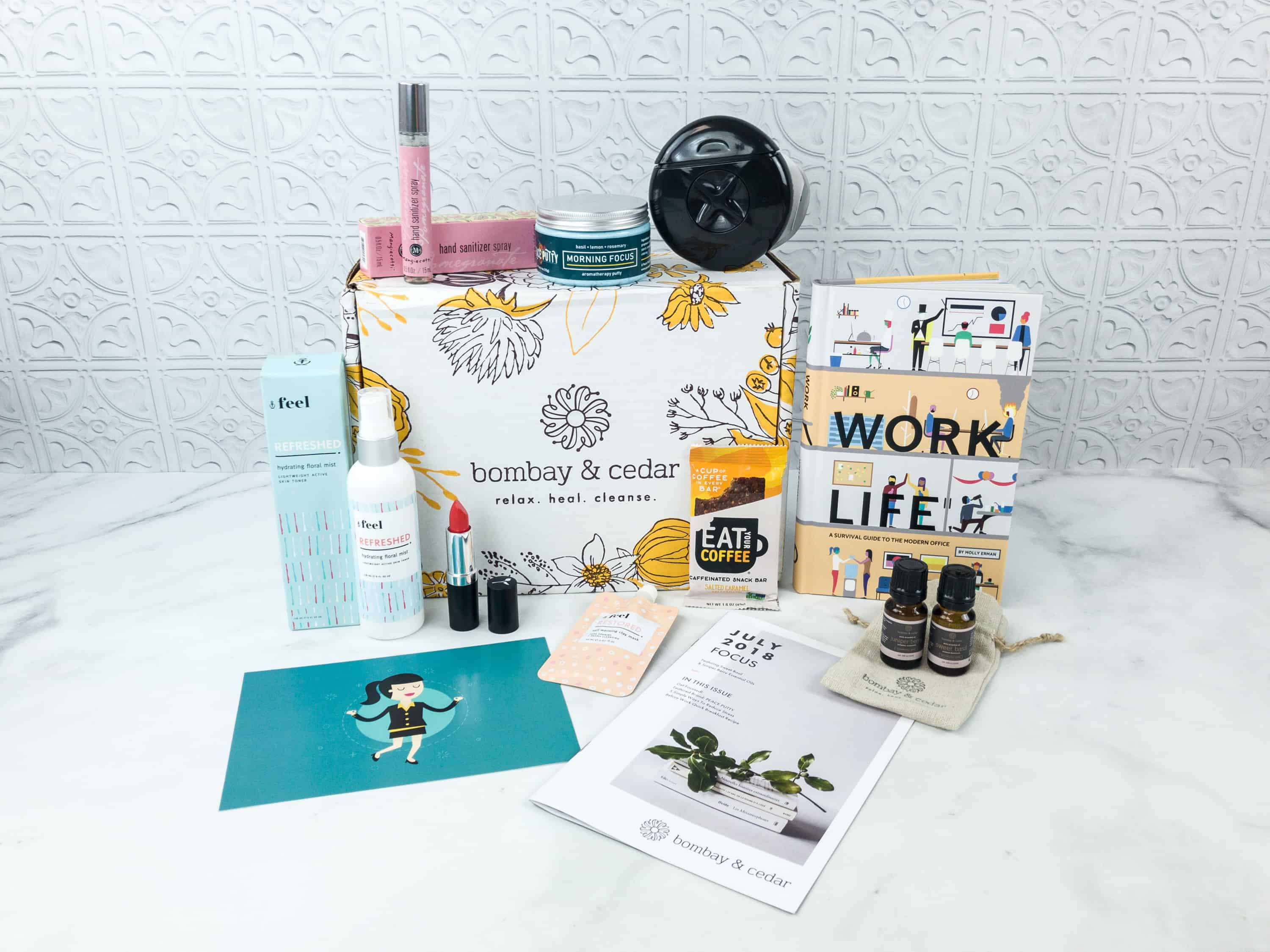 Bombay & Cedar July 2018 Subscription Box Review + Coupon
