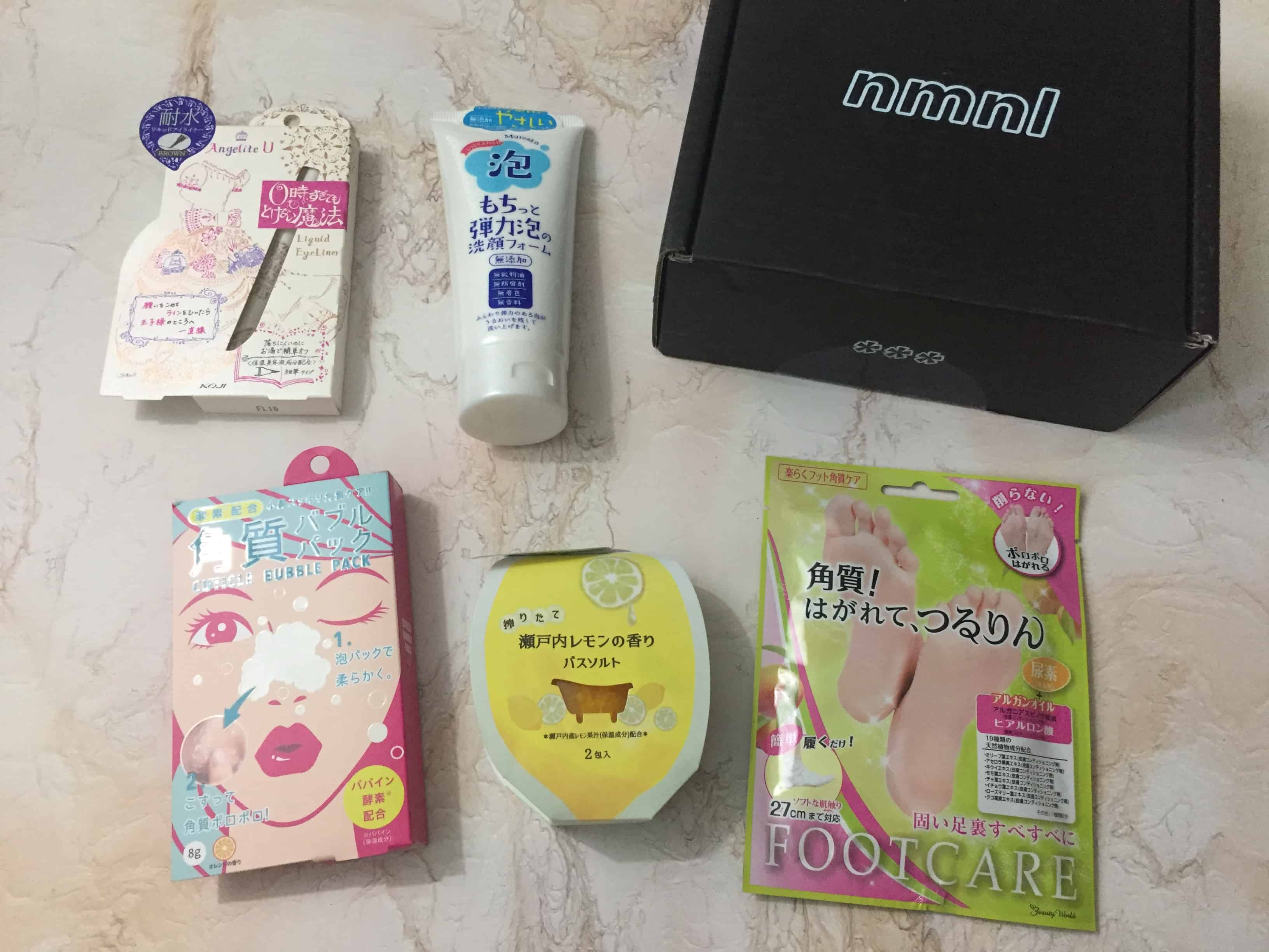 nmnl August 2018 Subscription Box Review + Coupon