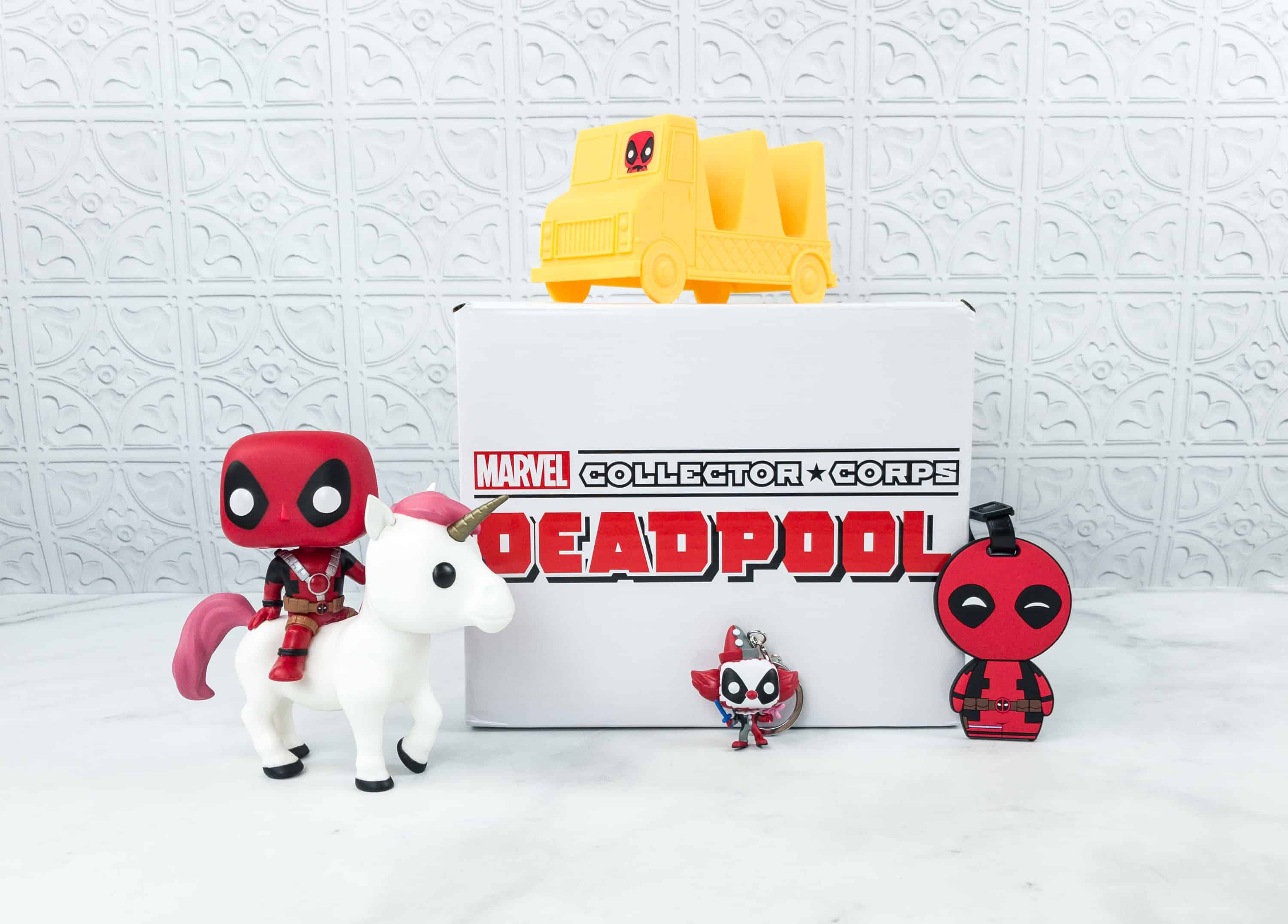 Marvel Collector Corps July 2018 Subscription Box Review – DEADPOOL