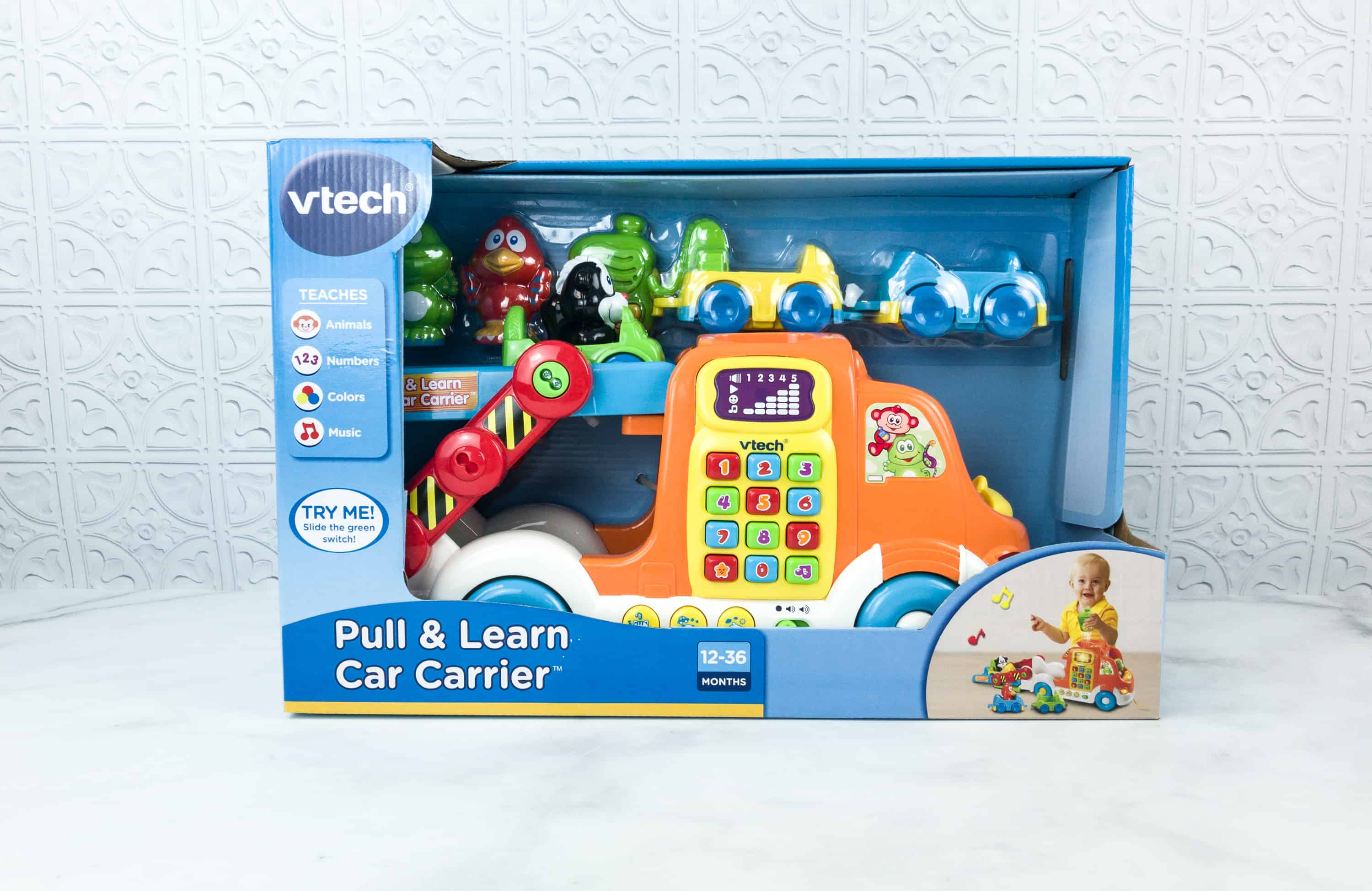 Amazon STEM Toy Club August 2018 Subscription Box Review – 3 to 4 Year Old Box