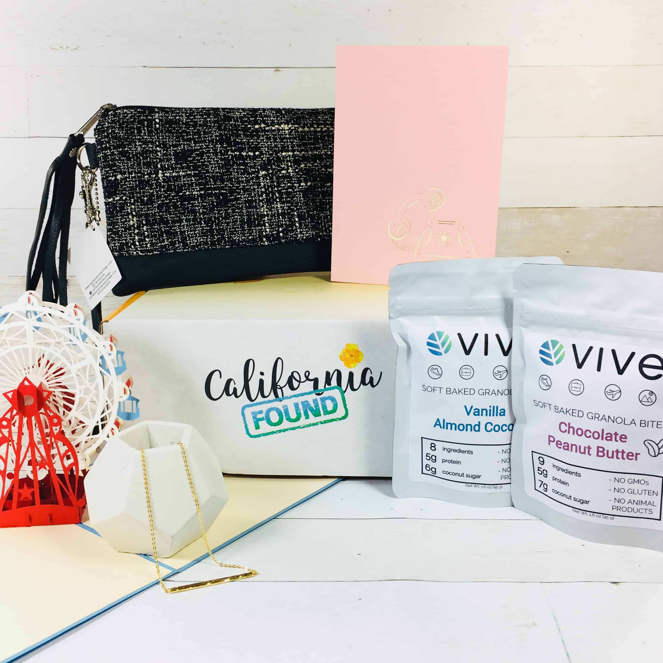 California Found July 2018 Subscription Box Review + Coupon