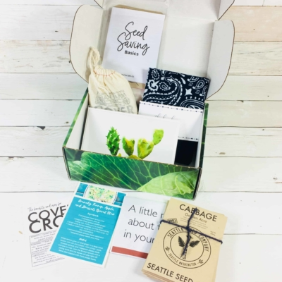 Plowbox Fall 2018 Gardening Subscription Box Review + Coupon