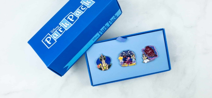 Disney Park Pack Pin Edition 3.0 July 2018 Subscription Box Review