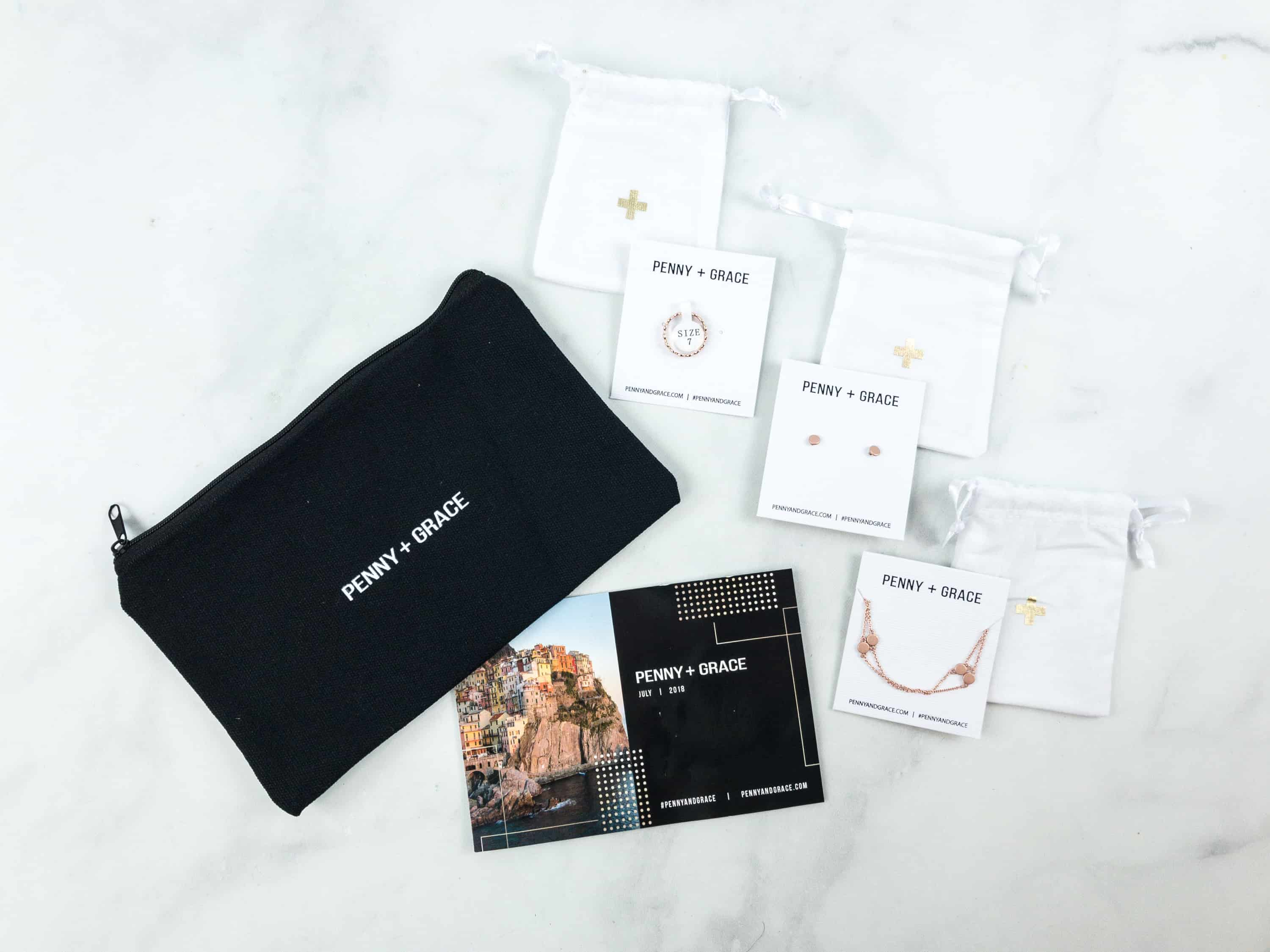 Penny + Grace July 2018 Subscription Box Review