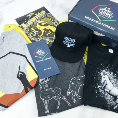 Geek Gear World of Wizardry Wearables July 2018 Subscription Box Review + Coupon