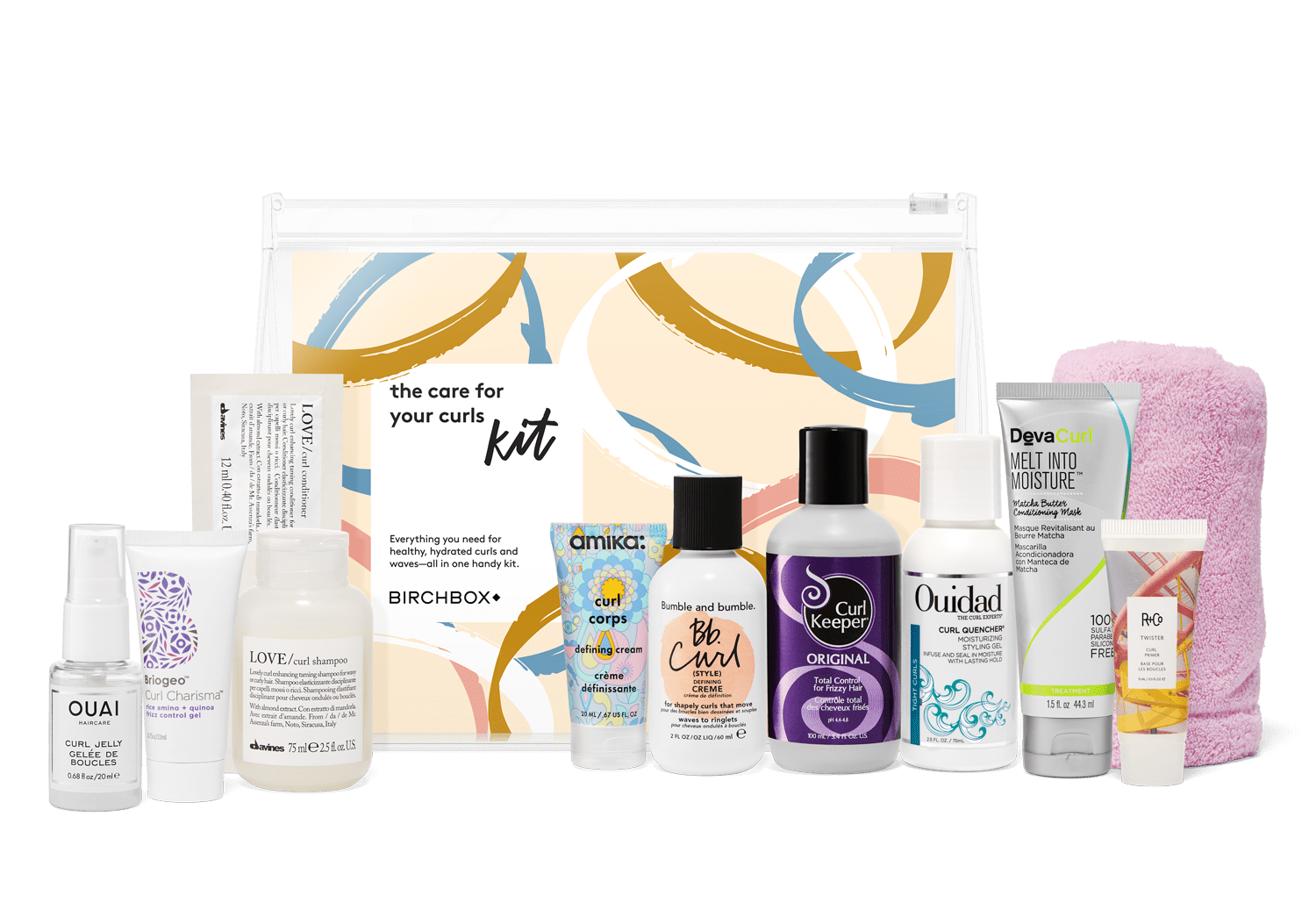 New Birchbox Kit + Free Gift Coupons – The Care for Your Curls Kit!