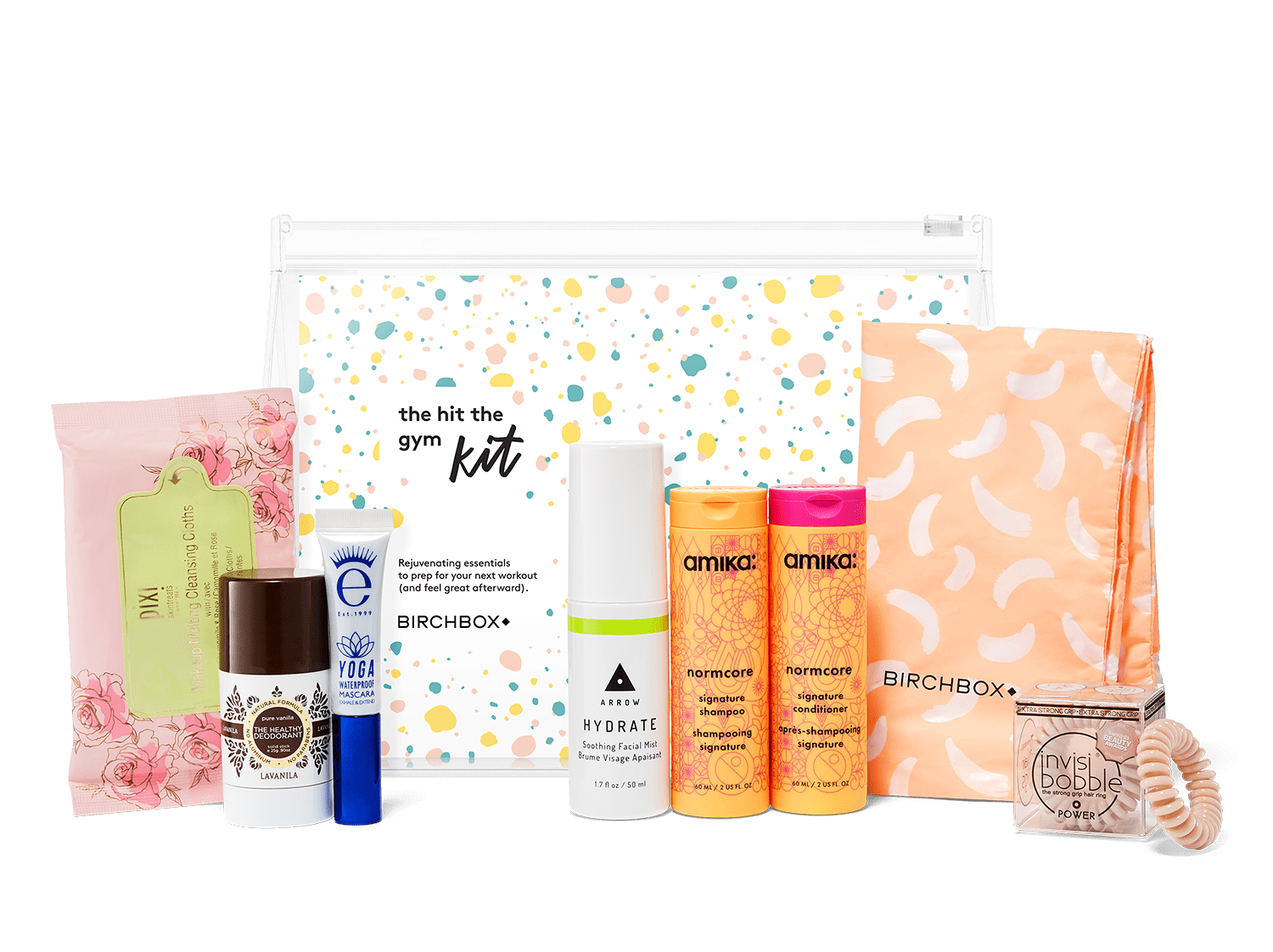 New Birchbox Kit + Free Gift Coupons – The Hit the Gym Kit!