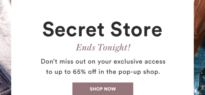 Julep August 2018 Secret Store – Last Call!