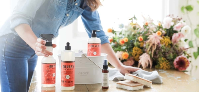Grove Collaborative: Mrs. Meyer's Summer Set – Free With $20 Purchase!