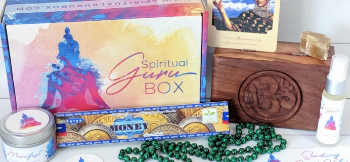 Spiritual Guru Subscription Box Review – July 2018
