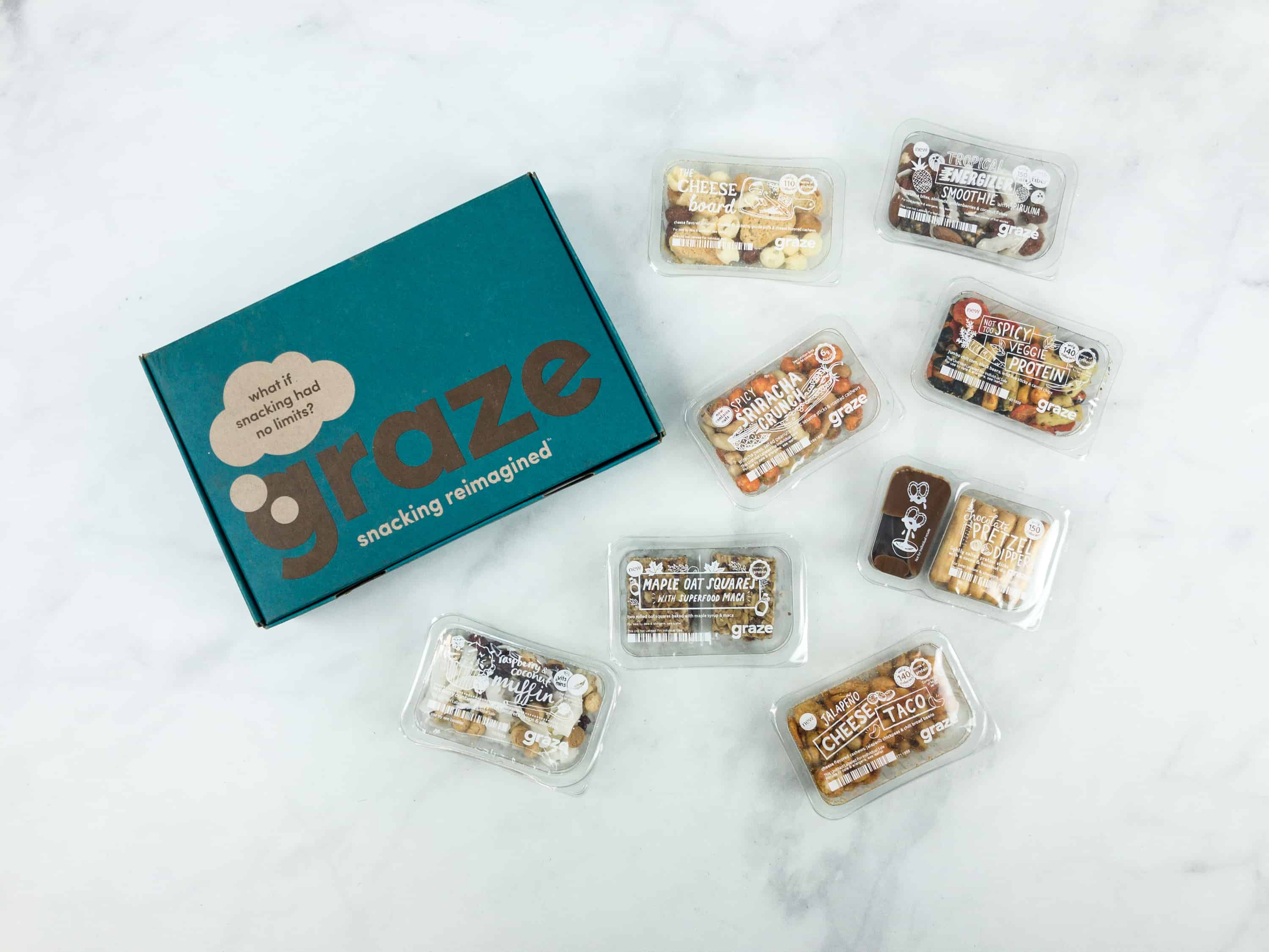 Graze Variety Box Review & Free Box Coupon – August 2018