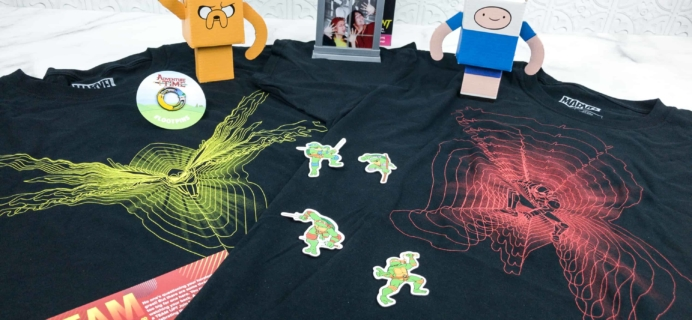 Loot Crate July 2018 Review + Coupons – TEAM UP