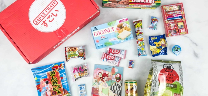 Japan Crate July 2018 Subscription Box Review + Coupon