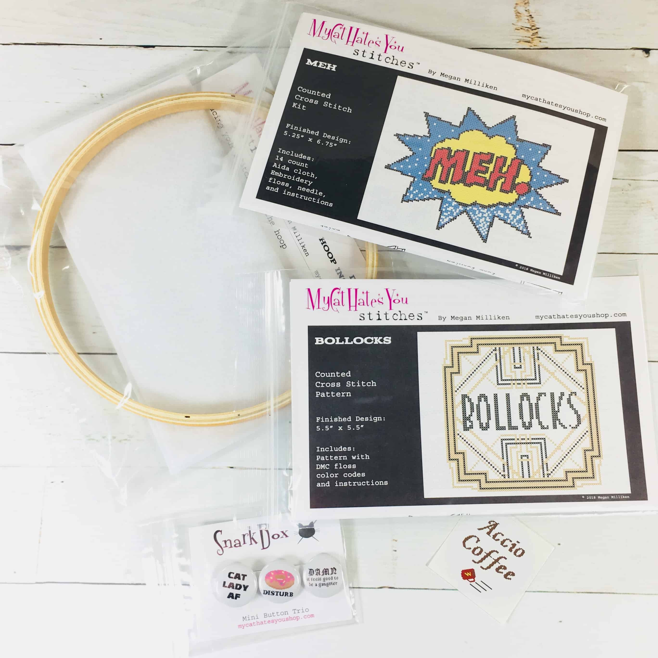 SnarkBox August 2018 Subscription Box Review