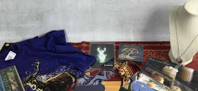 Geek Gear World of Wizardry June 2018 Subscription Box Review