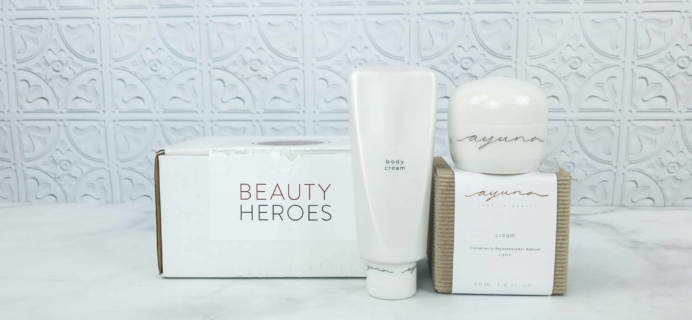 Beauty Heroes August 2018 Subscription Box Review