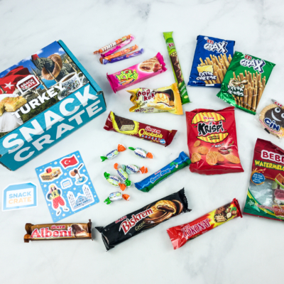 Snack Crate July 2018 Subscription Box Review & $10 Coupon