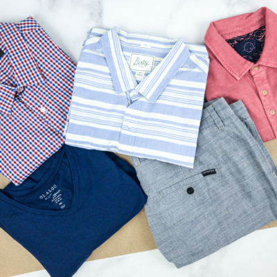 Stitch Fix Men August 2018 Review