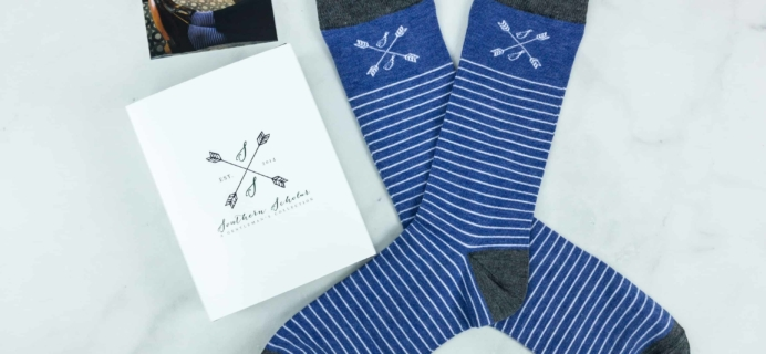 Southern Scholar Men's Sock Subscription Box Review & Coupon – August 2018