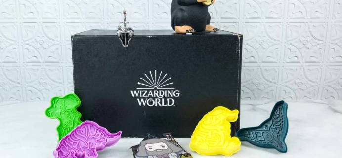 JK Rowling's Wizarding World Crate July 2018 Review + Coupon