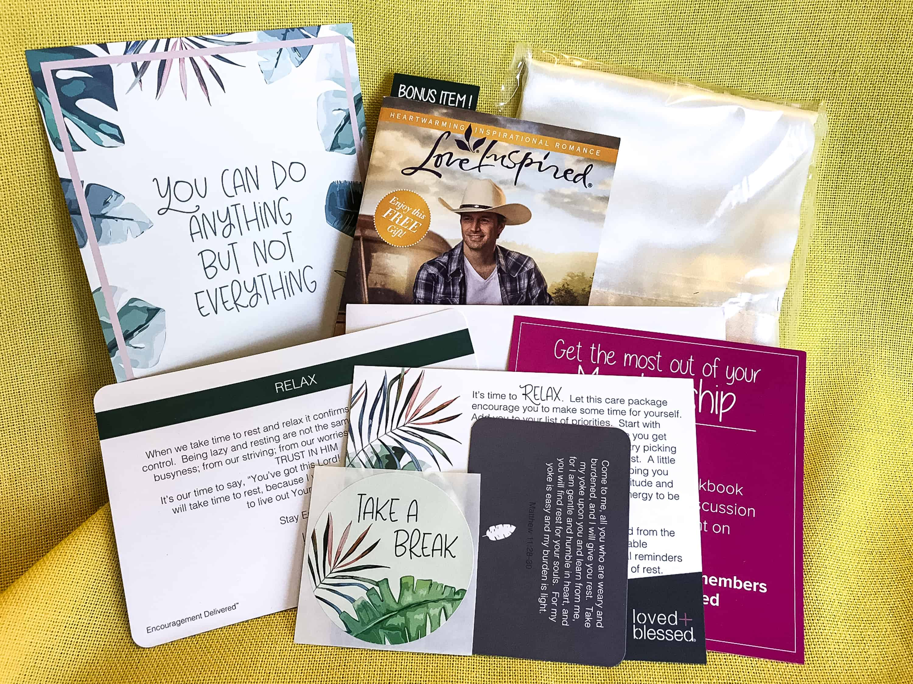 Loved+Blessed August 2018 Subscription Box Review + Coupon