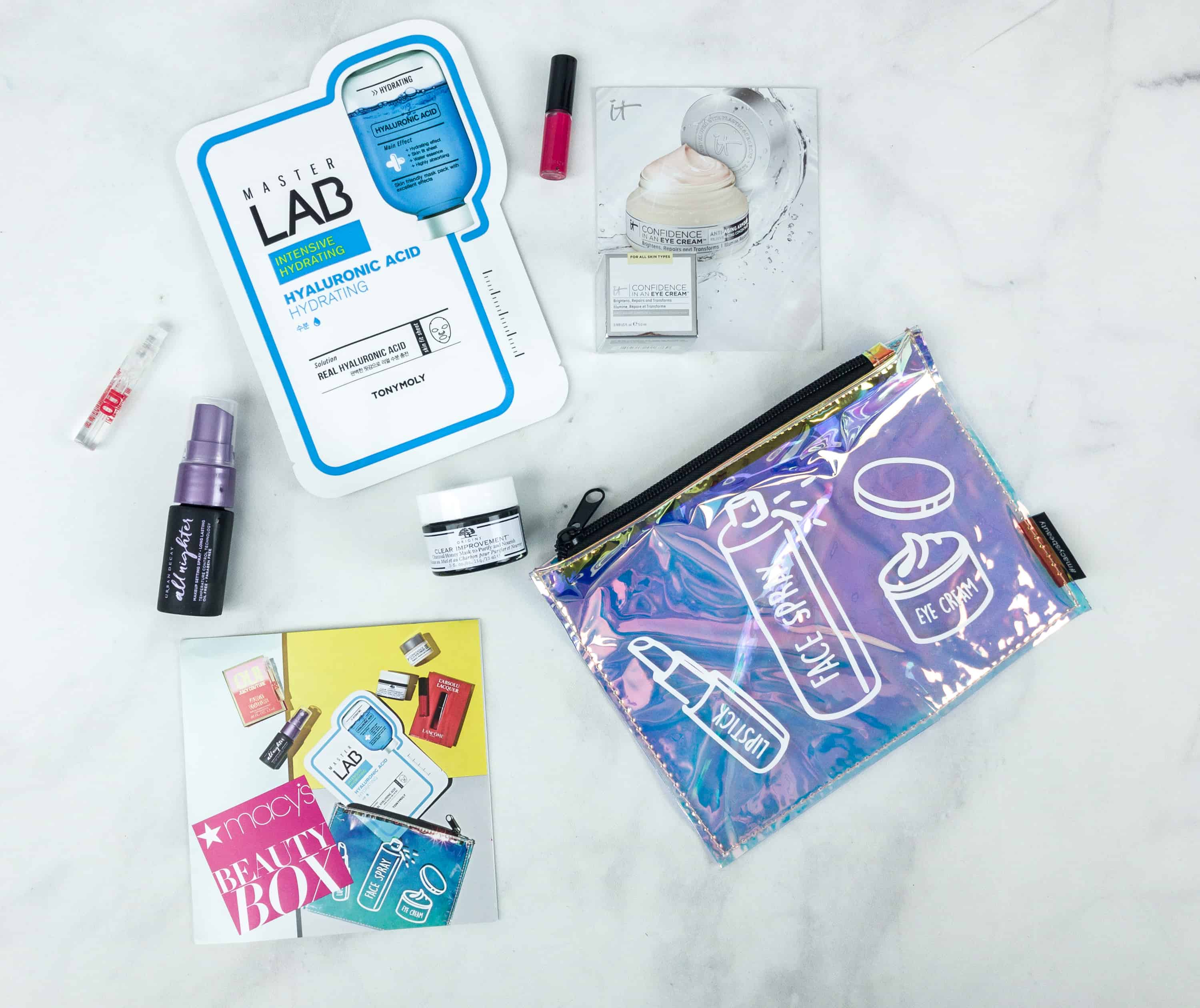 Macy's Beauty Box August 2018 Subscription Box Review