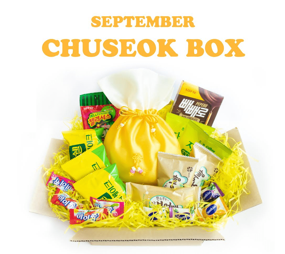Korean Snack Box September 2018 FULL Spoilers + Coupon!