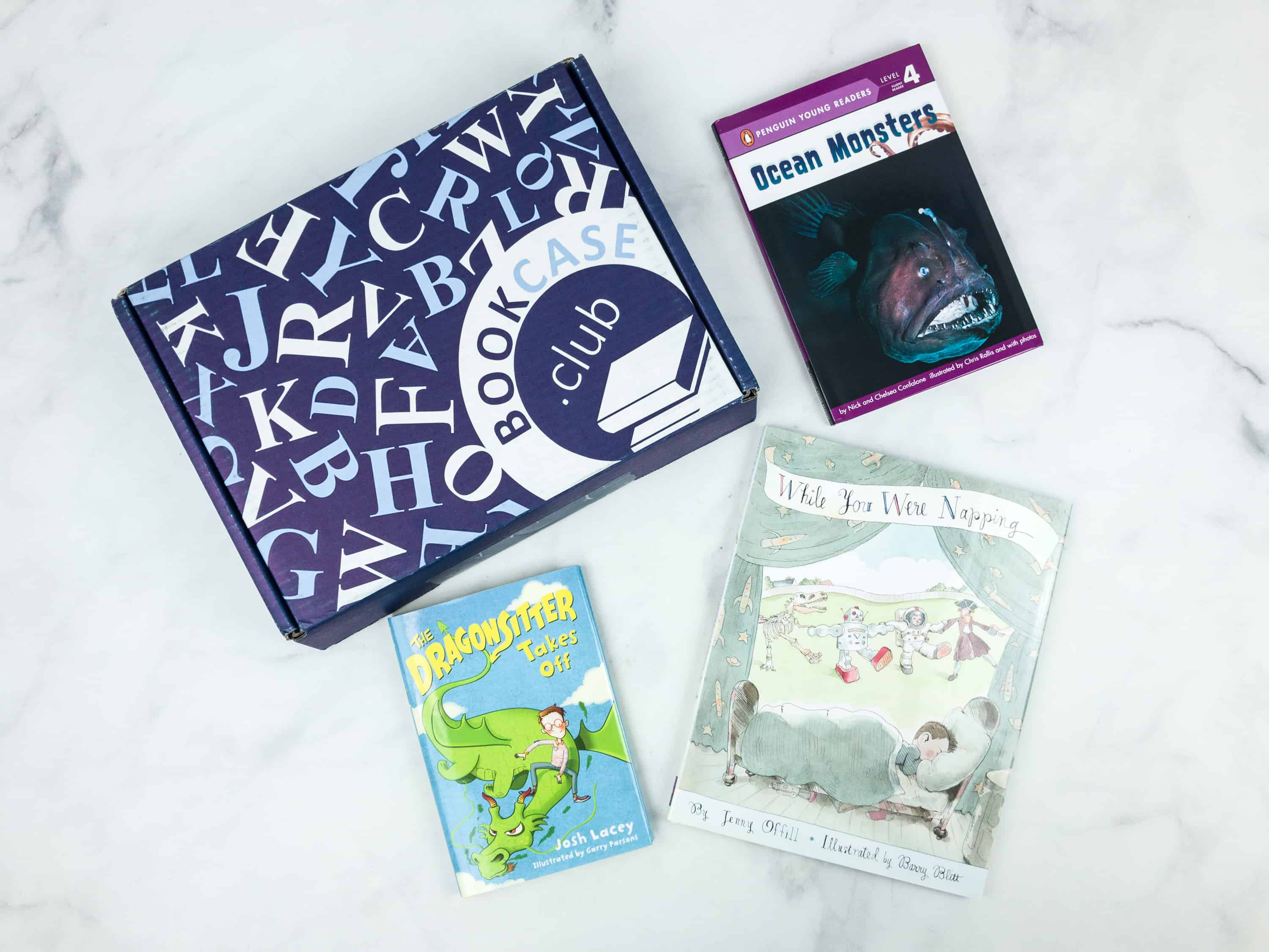 Kids BookCase Club August 2018 Subscription Box Review + 50% Off Coupon!
