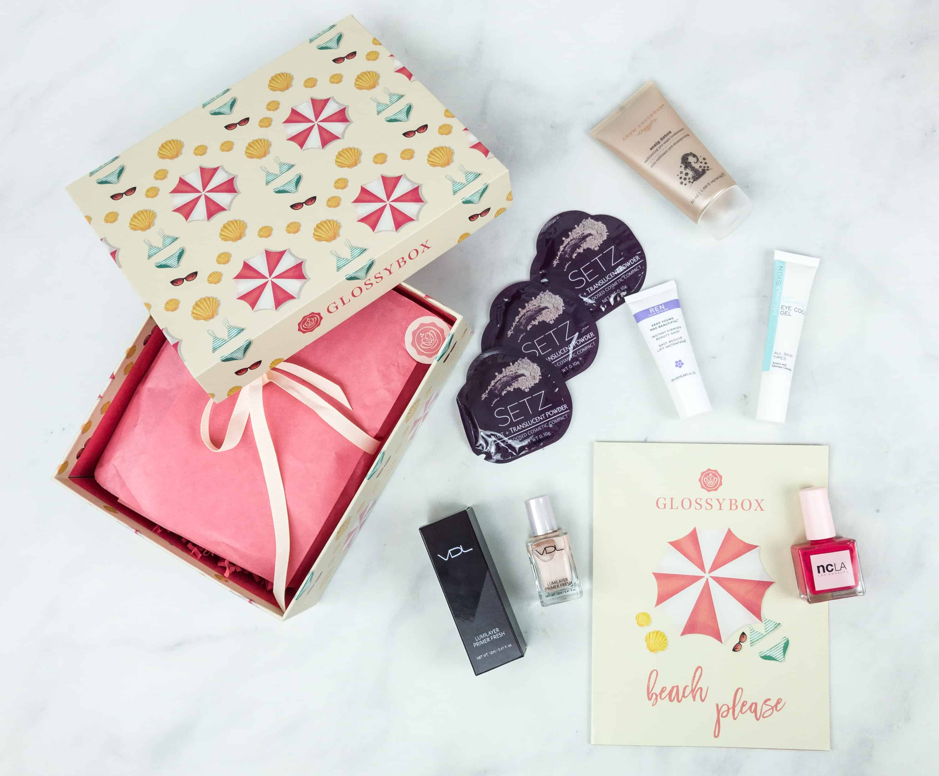 August 2018 GLOSSYBOX Subscription Box Review