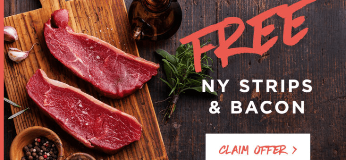 ButcherBox Deal: Get FREE New York Strips + Bacon! EXTENDED!