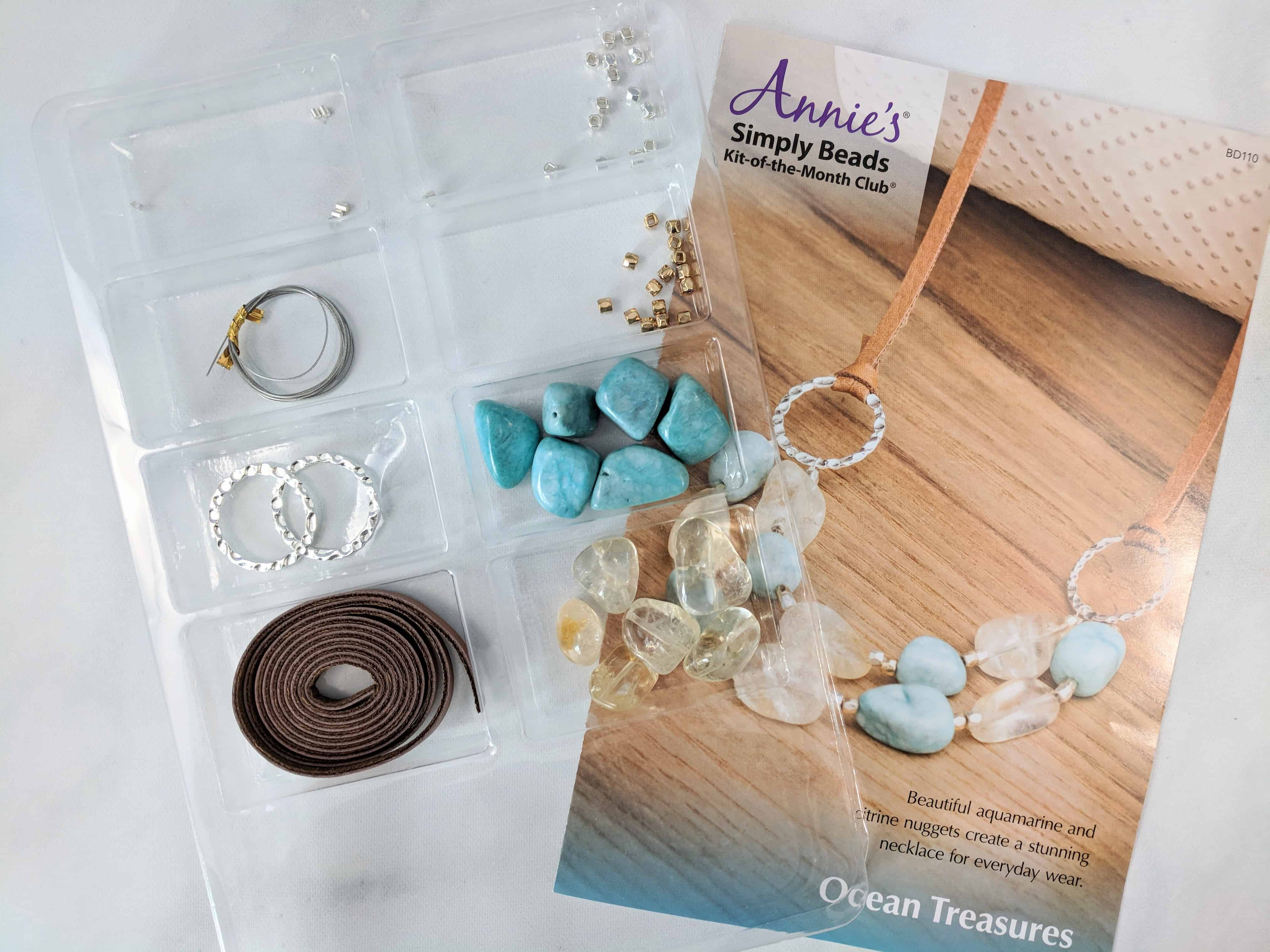Annie's Simply Beads Kit-of-the-Month Club Subscription Box Review – July 2018