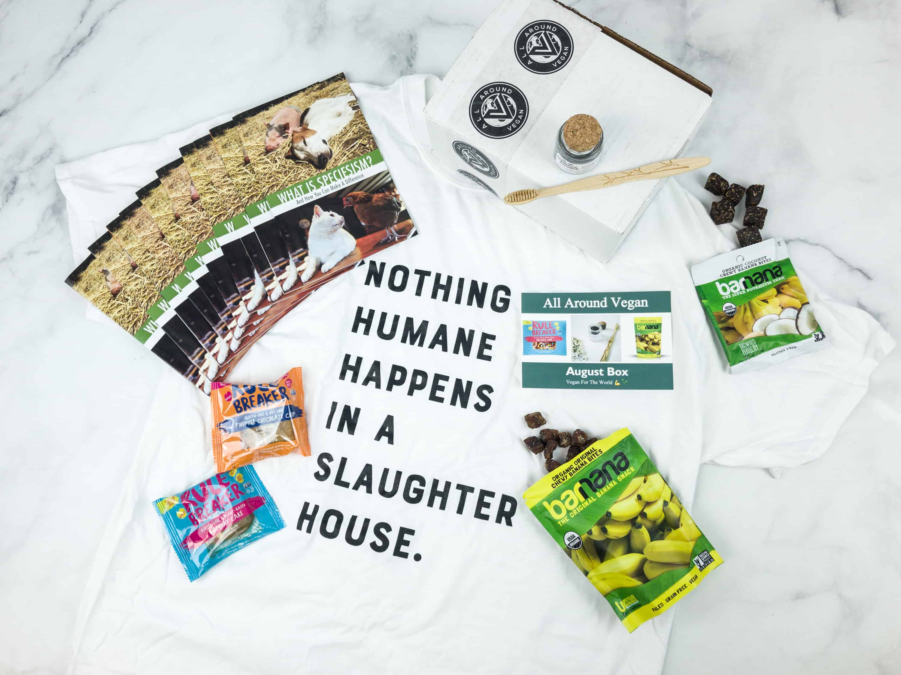All Around Vegan Box August 2018 Subscription Box Review + Coupon
